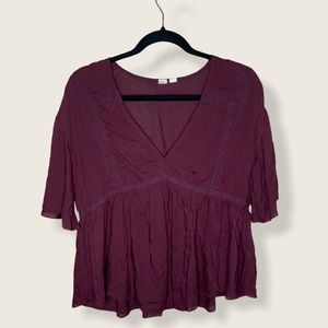 Melrose & market blouse size SMALL